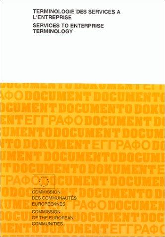 9789282631423: Terminologie DES Services a L'Entreprise: Services to Enterprise Terminology