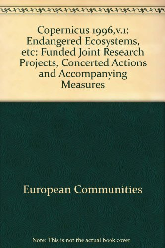 In ENGLISCHER Sprache. Copernicus 1996; Funded joint