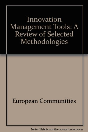 9789282805732: Innovation Management Tools: A Review of Selected Methodologies