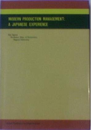 9789283310778: Modern Production Management: A Japanese Experience