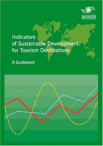 9789284407262: Indicators of sustainable development for tourism destination