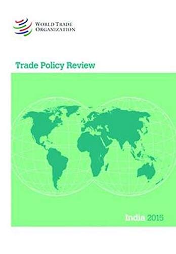 Trade Policy Review - India (Paperback)