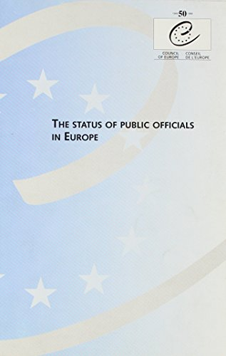 9789287140807: The Status of Public Officials in Europe