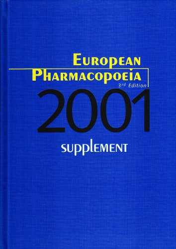 9789287143181: European Pharmacopoeia: 2001 Supplement, 3rd Edition