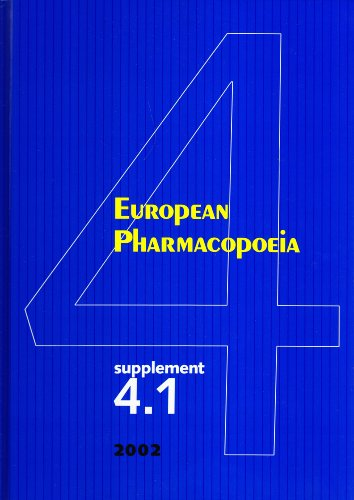 9789287146588: European Pharmacopoeia, Supplement 4.1 to the 4th Edition