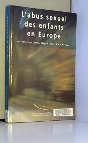 9789287153340: L'abus sexuel des enfants en Europe