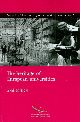 9789287161215: The Heritage of European Universities (Council of Europe Higher Education Series)