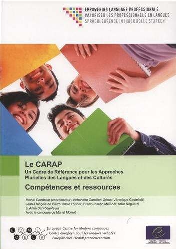 9789287171726: Le CARAP : Un Cadre de R�f�rence pour les Approches Plurielles des Langues et des Cultures : Comp�tences et ressources