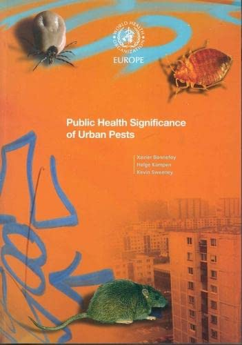 9789289071888: Public Health Significance of Urban Pests (A EURO Publication)