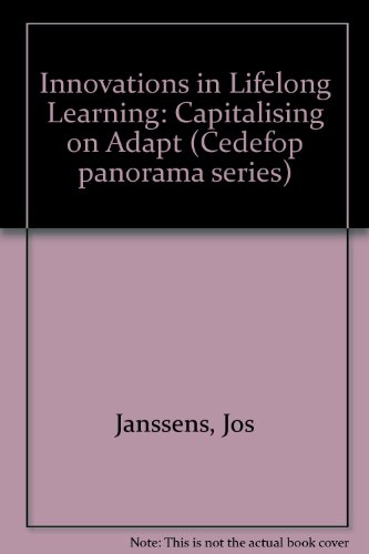 Innovations in lifelong learning: Capitalising on ADAPT: Jos Janssens