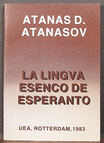 9789290170242: La Lingva Esenco de Esperanto