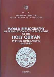 World bibliography of translations of the meanings: Prepared by ISMET