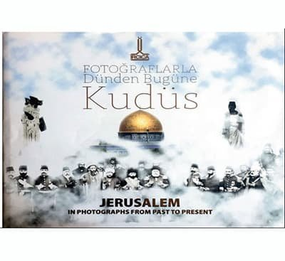 Jerusalem in photographs from past to present.=: Texts by NAJIH