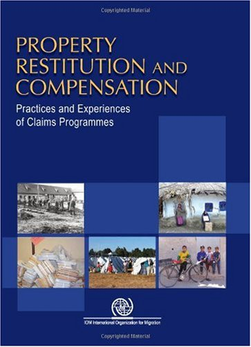 Property, Restitution and Compensation. Practices and Experiences of Claims Programmes: IOM