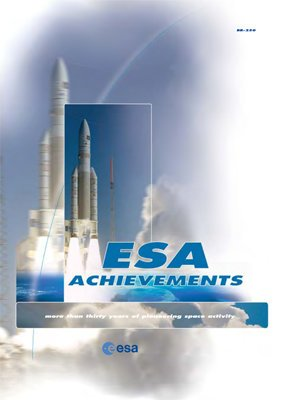 9789290924937: European Space Agency: Achievement: More Than 30 Years of Pioneering Space Activity