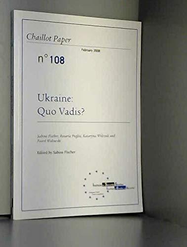 9789291981243: Ukraine quo vadis ?
