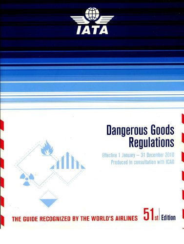 9789292332181: Dangerous Goods Regulations (DGR) Bound Manual 2010: (Iata-resolution 618 Attachment