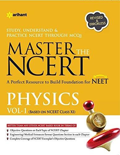 Master The Ncert Physics Vol-1: Dr. Satyam Kumar