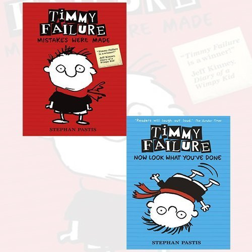 9789325953888: Stephan Pastis Timmy Failure 2 Books Bundle Collection (Timmy Failure: Mistakes Were Made,Timmy Failure: Now Look What You've Done)