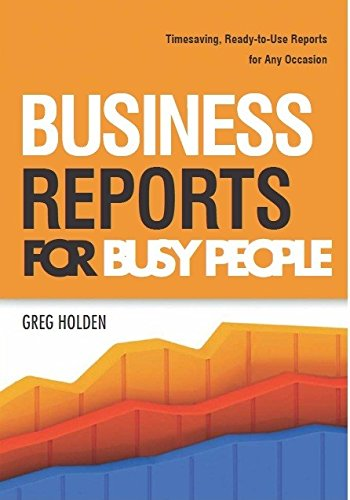 9789325977808: Business Reports for Busy People