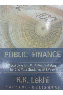 Public Finance B.Com. UP: Lekhi R.K., Joginder