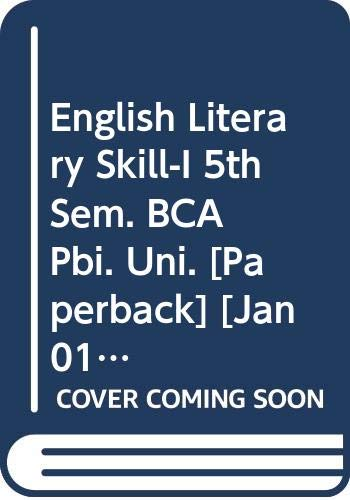 English Literary Skill-I 5th Sem. BCA Pbi.: Arora Abhishek