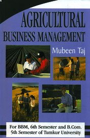 Agricultural Business Managemnt 5th Sem. B.com. &: Mubeen Taj