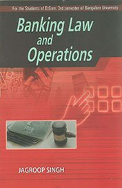 Management of Banking Operations B.Com 1st Sem.: Jagroop Singh