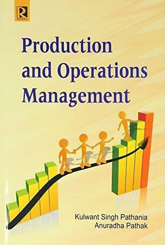 Production and Operation Management BBA 4th Sem.: Gupta Neeti, Anuj