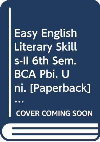 Easy English Literary Skills-II 6th Sem. BCA: Arora Abhishek