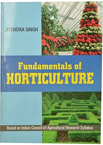 Fundamentals of Horticulture: Jatinder Singh
