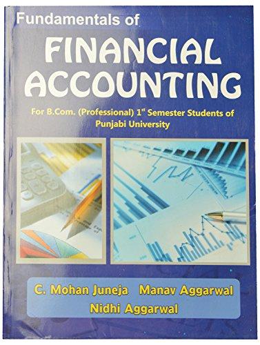 Fundamentals of Financial Accounting B.Com (Prof.) Paperbacki.: Juneja C. Mohan,