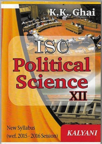ISC POLITICAL SCIENCE - XII