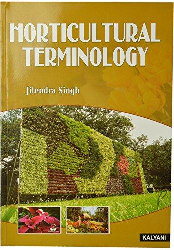 Horticulture Terminology: Jatinder Singh
