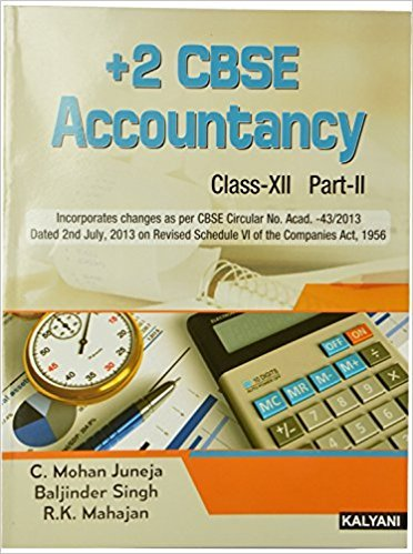 Accountancy-II, XII, (Part-II): Juneja C. Mohan,