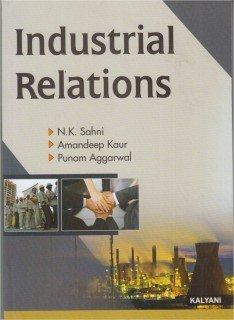 Industrial Relations B.Com 6th Sem. HP Uni.: Sahni N.K., Amandeep
