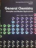 Modern Course in College Chemistry General Chemistry: Sharma Y.R., Sharma