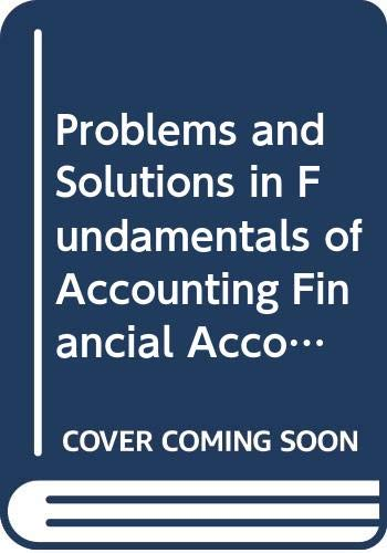 Problems & Solutions in Fundamentals of Financial: Jain S.P., Narang