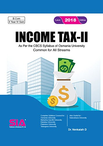 Income Tax - II, B.Com 4th Sem.: Gaur V.P., Narang