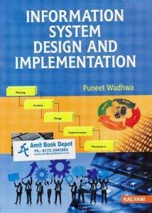 9789327292084 Information System Design Implementation Bca 3rd Sem Pb Uni 1st Revised Edn Abebooks 9327292081