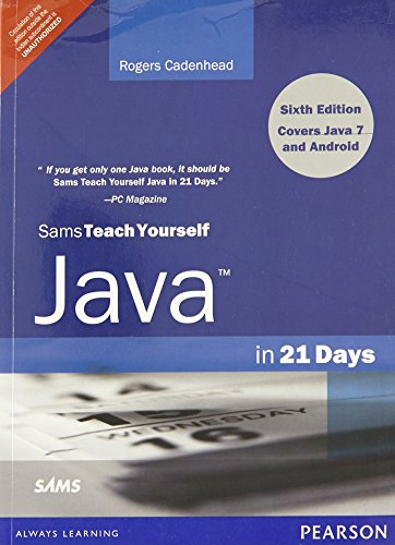 9789332502031: Sams Teach Yourself Java in 21 Days (Covering Java 7 and Android), 6/e