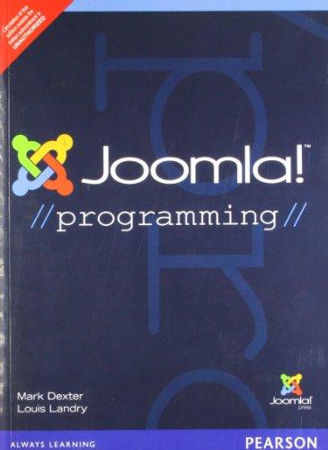 9789332502079: Joomla! Programming,