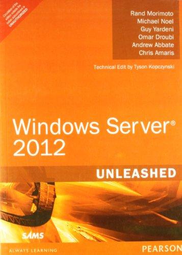 9789332502086: WINDOWS SERVER 2012 UNLEASHED