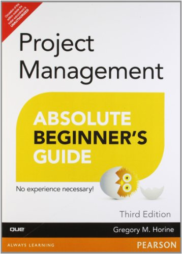 9789332502161: Project Management Absolute Beginner's Guide,, 3/e