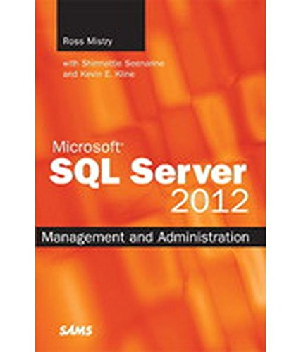 9789332502192: Microsoft Sql Server 2012 Management And Administration