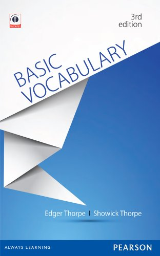 9789332508101: BASIC VOCABULARY 3/E
