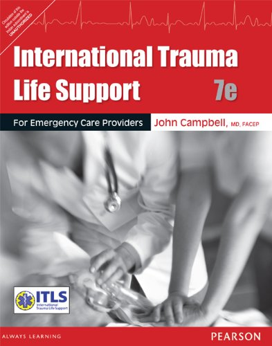 9789332512108: FAST SHIP - ITLS CAMPBELL 7e International Trauma Life Support for Emergency T27