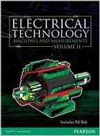 Electrical Technology, Vol2: Machines And Measurements: Bali S.P.