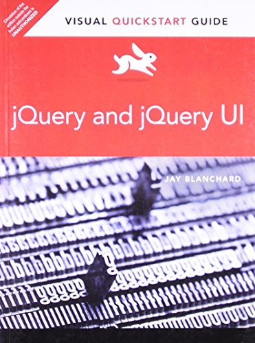 9789332515949: jQuery and jQuery UI: Visual QuickStart Guide