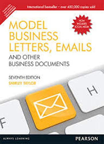 9789332516014: Model Business Letters, Emails and Other Business Documents